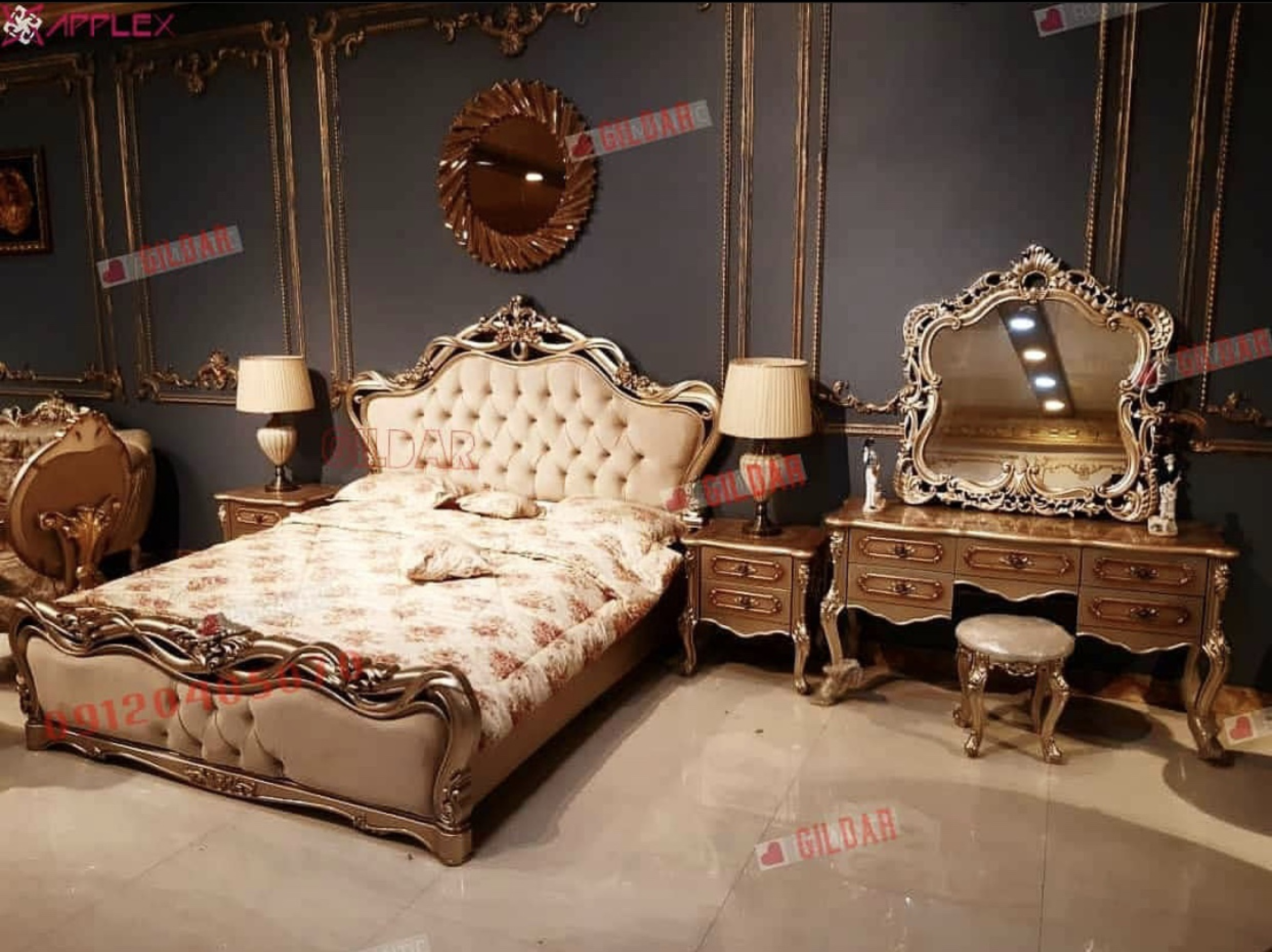 سرویس خواب کلاسیک مدل سایه