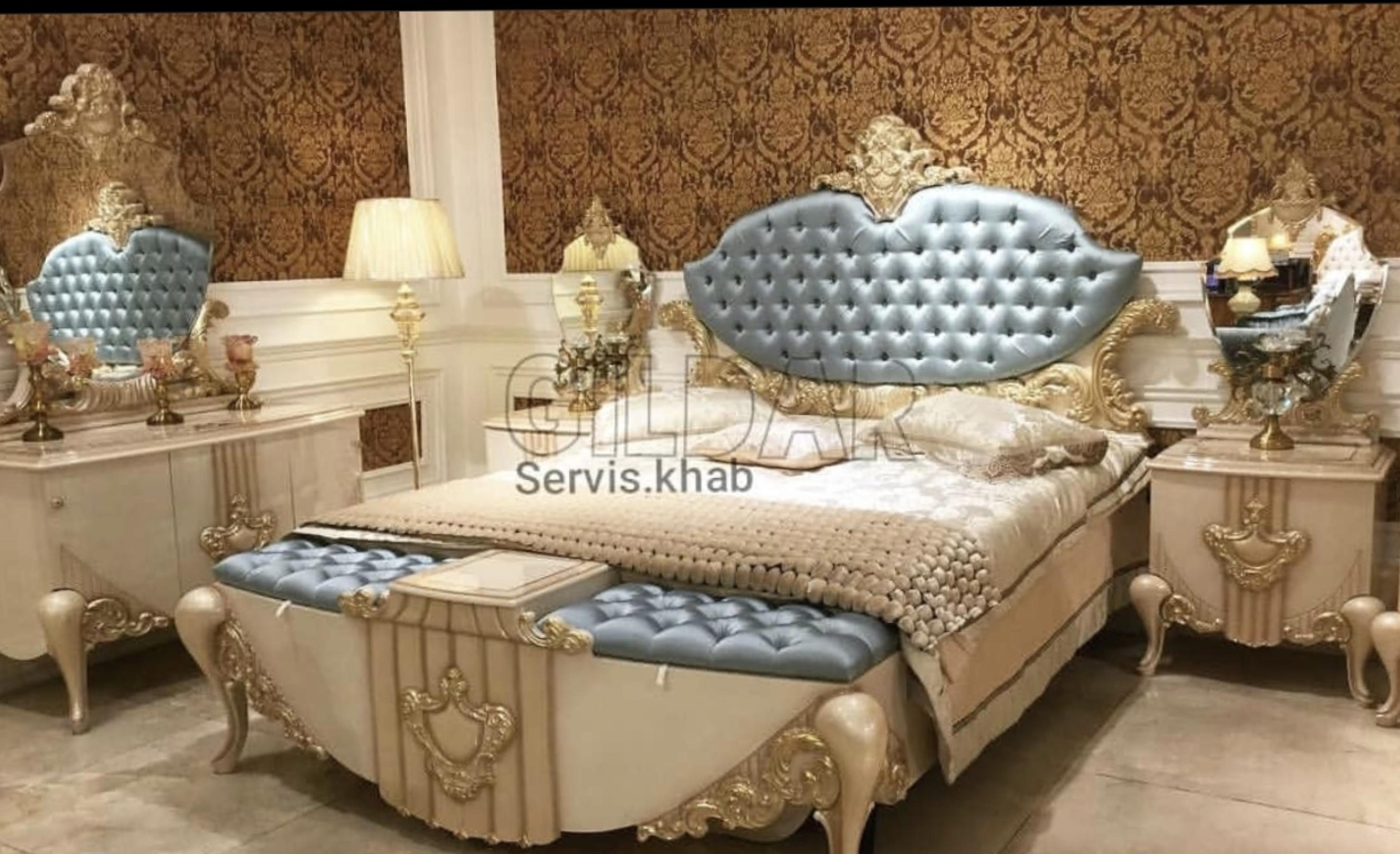 قیمت سرویس خواب کلاسیک مدل پِرنسای