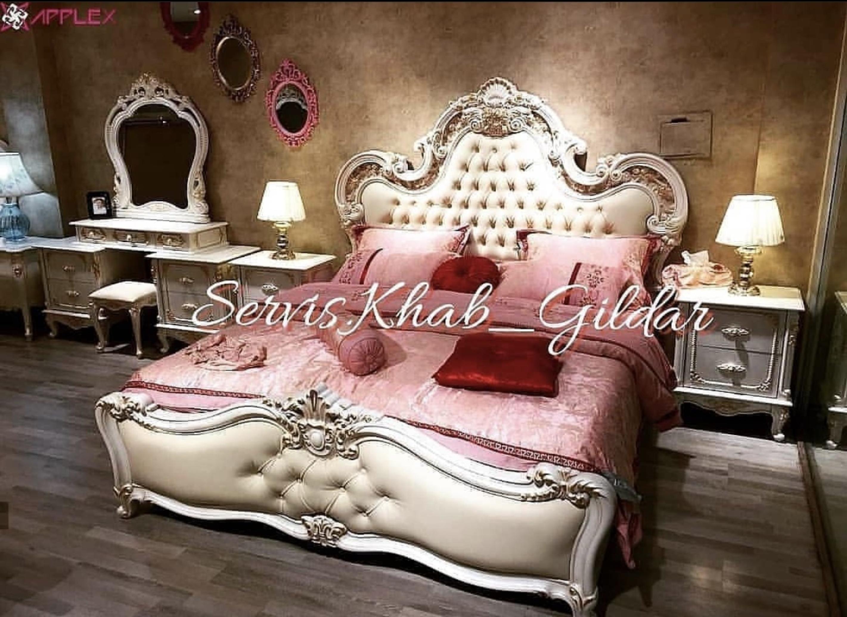 سرویس خواب کلاسیک مدل آماندا