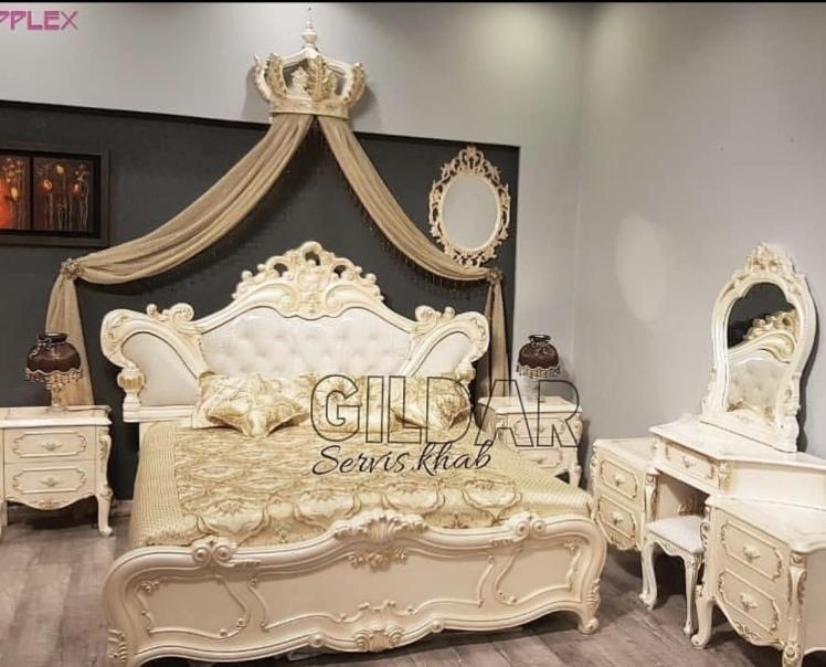 سرویس خواب کلاسیک مدل شانیزا