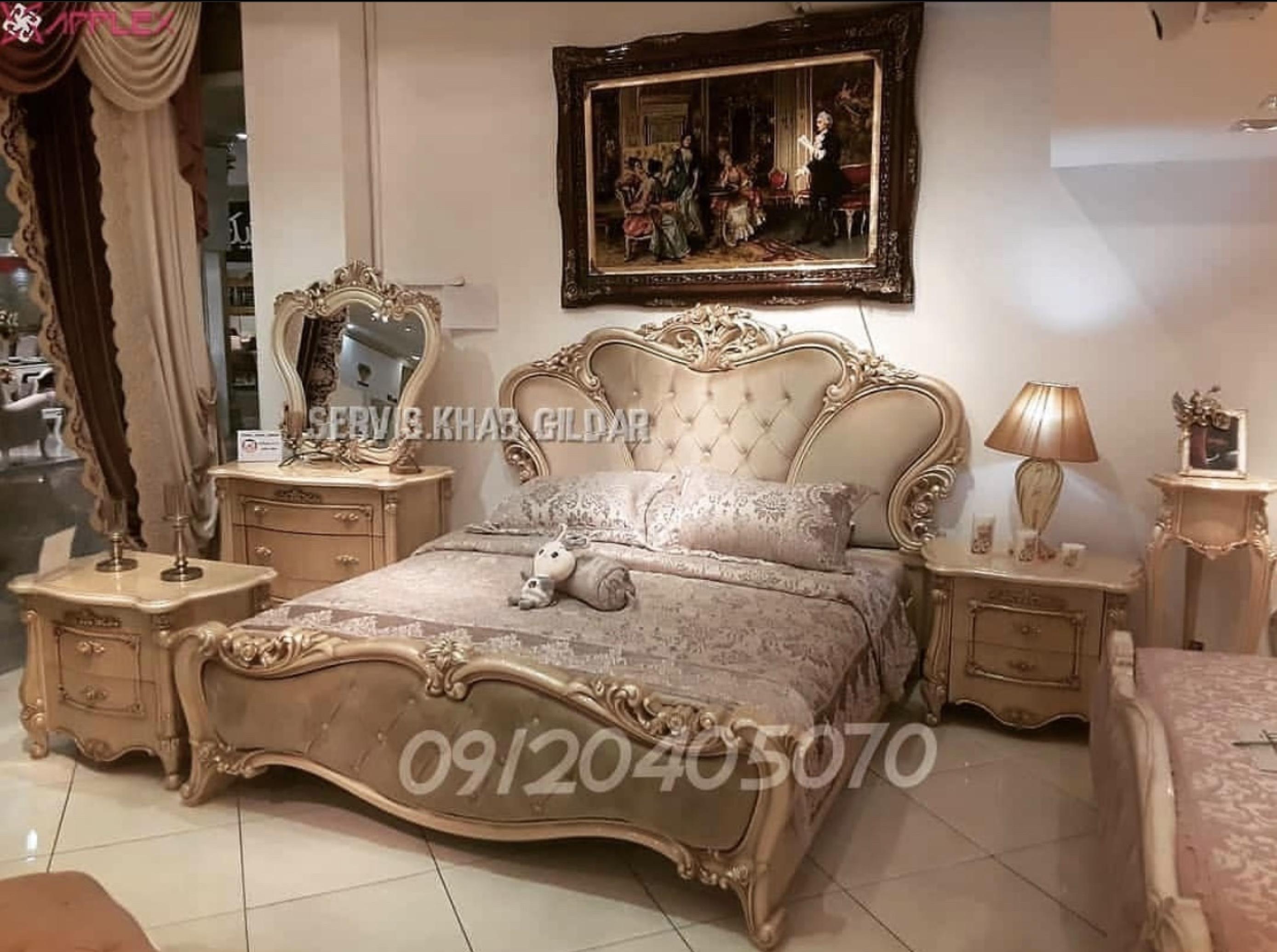 قیمت سرویس خواب کلاسیک مدل گیلانه