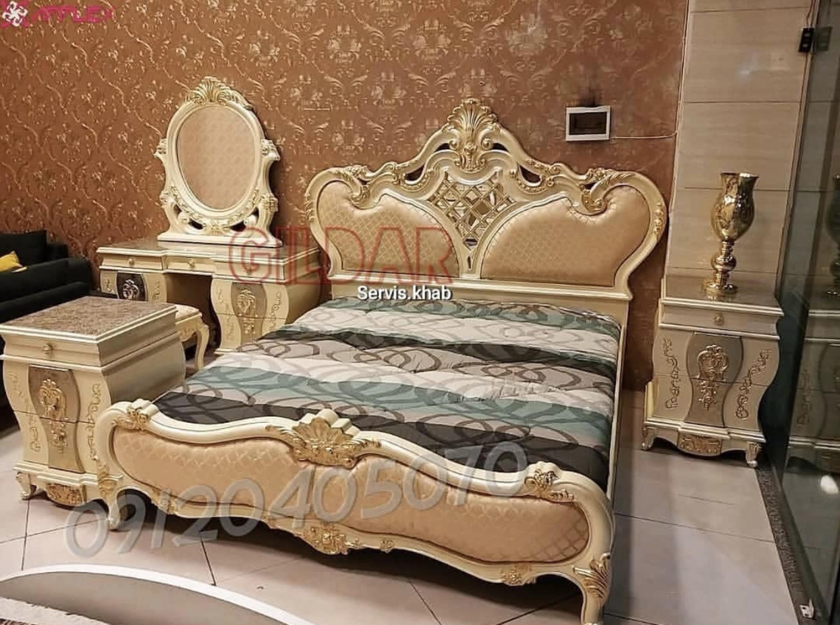 سرویس خواب کلاسیک مدل تورِنا
