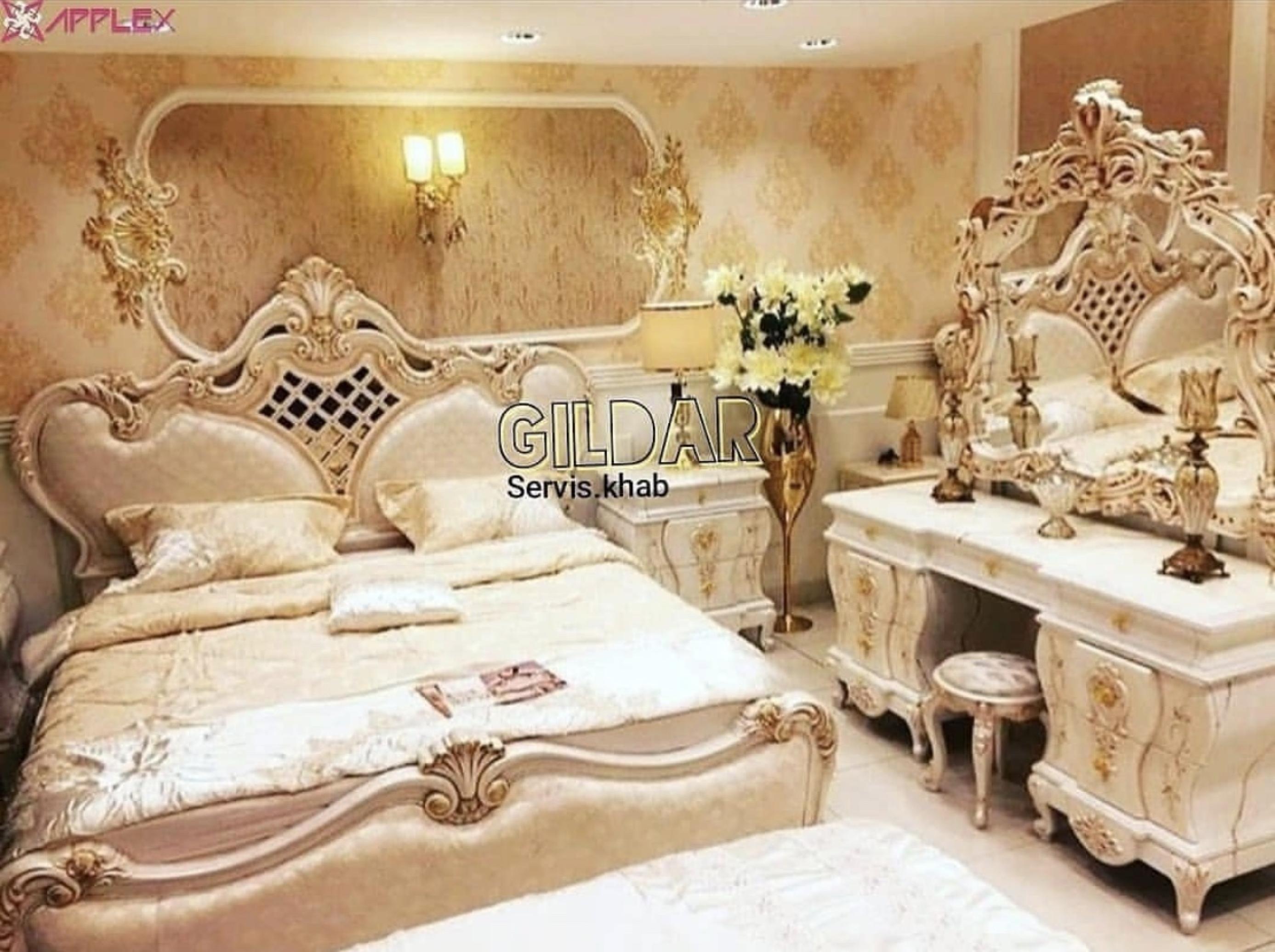 قیمت سرویس خواب کلاسیک مدل تورِنا
