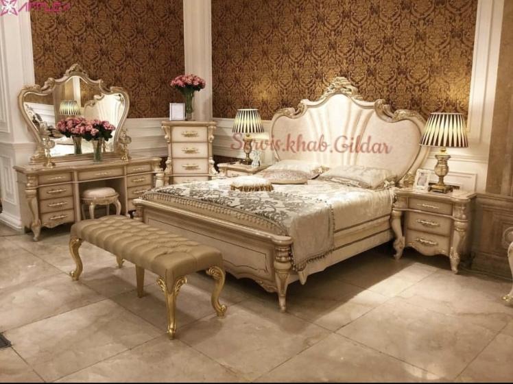 سرویس خواب کلاسیک مدل لوفانسا