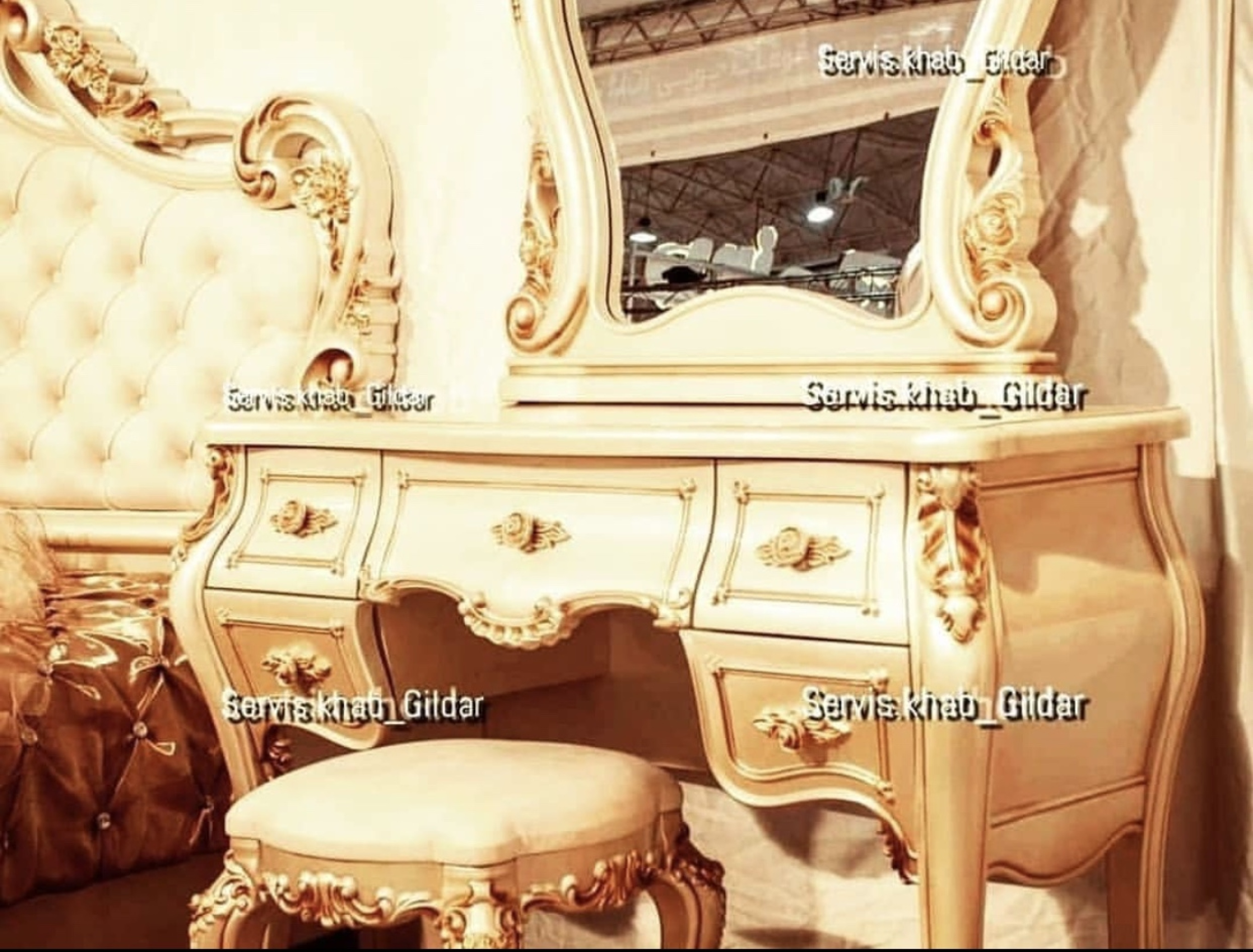 قیمت سرویس خواب کلاسیک مدل کاراکو